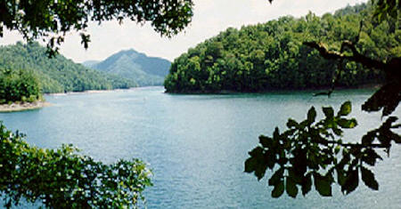 Lake Nantahala is one of the highest elevation lakes in the Southeast. Lake Nantahala's cool waters are great for fishing mountain trout, pike, bass, catfish and watersports.